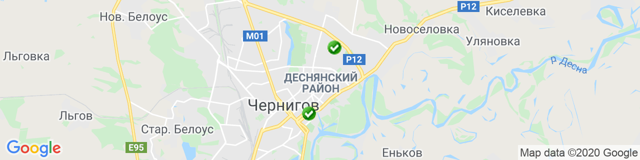 Карта объектов компании ВД СТИЛЬ
