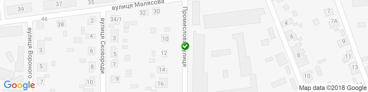 Карта объектов компании Зебнитц